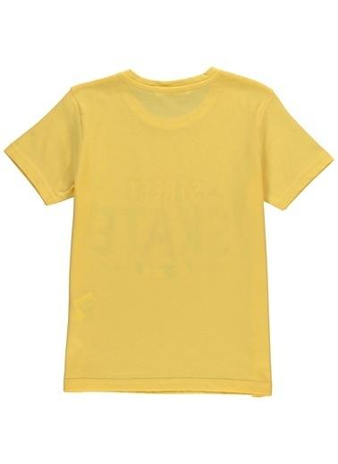 Asymmetry Tişört Sarı